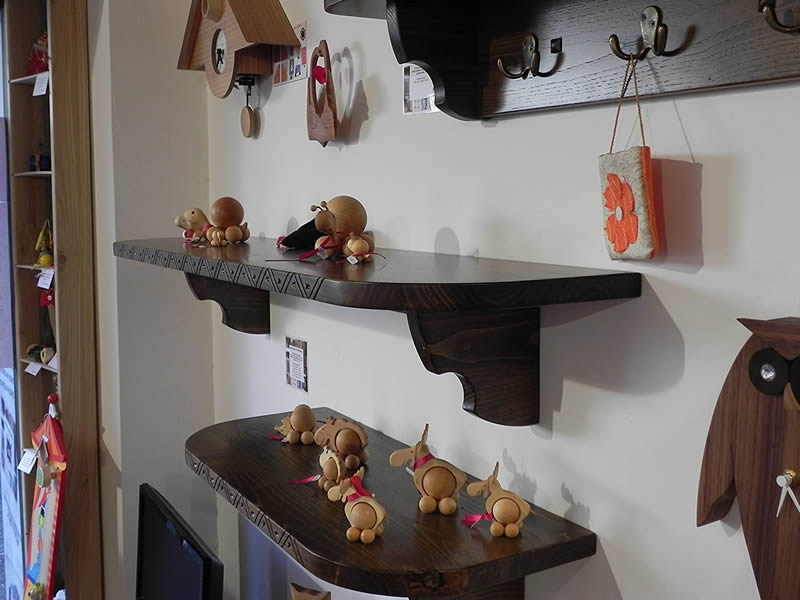 Rondinedda – Craft Wooden Shelf 29 Cm Depth