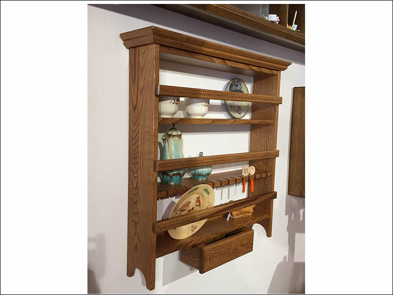 Contularia – Plate Rack In Sardinian Art With Deck